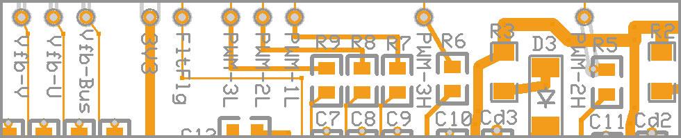 Печатная плата системы управления двигателем