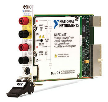 Цифровые мультиметры National Instruments